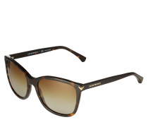 Sonnenbrille Wayfarer braun