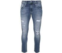 Jeans 'zinc' blau