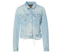 Jacke 'denim Jacket Destroyed Light Blue'