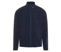 Softshell-Jacke blau