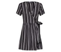 Kleid 'Bella' schwarz / weiß