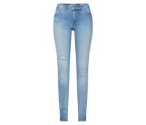 Jeans 'onlCARMEN REG SK BB Jeans' blue denim
