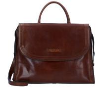Pearldistrict Handtasche Leder 36 cm