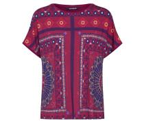Shirt 'ts_Larisa' mischfarben / rot