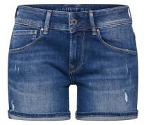 Shorts 'Siouxie' blue denim