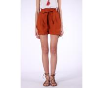 Shorts 'Futur Treill' orangerot