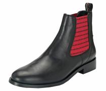 Chelsea Boots 'Suvi' mit schwarzen Love-Streifen