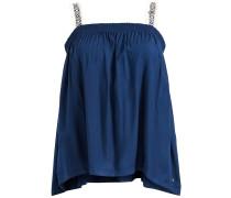 Top 'dakara' blau / weiß