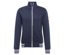 Sweatjacke 'Trainer Back to the roots' navy