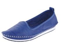Komfort-Slipper blau
