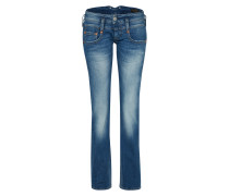 'Pitch' Straight-fit-Jeans blue denim