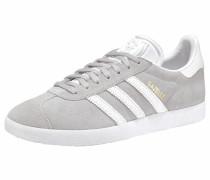 Sneaker 'Gazelle W' grau / weiß
