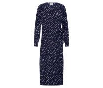 Kleid 'Ternes' blau / weiß