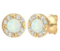Ohrringe opal / gold
