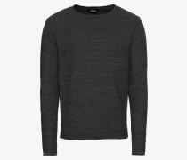 Pullover 'Knit - Jasen' basaltgrau