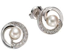 Perlenohrringe mit Zuchtperlen