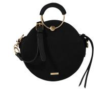 Runde Handtasche 'philipsen' schwarz
