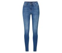 Jeans 'nmlexi HW Skinnyjeans' blue denim