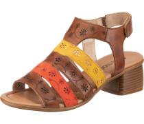 Sandaletten rot / gelb