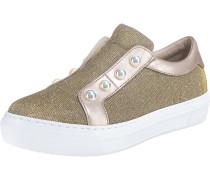Sneaker gold / rosegold