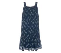 Kleid 'Wateka Ros' nachtblau / mischfarben