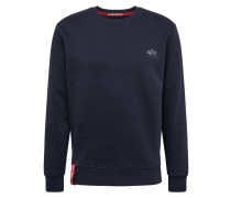 Sweater 'Small Logo' dunkelblau