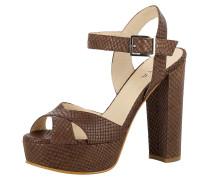 Sandale 'lana' braun