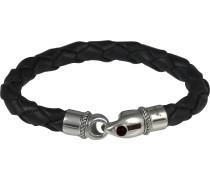 Armband silbergrau / schwarz