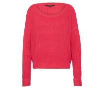 Pullover 'rib Core' pink