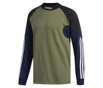 Langarmshirt navy / khaki