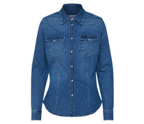 Jeansbluse blue denim