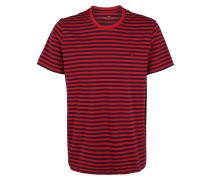T-Shirt schwarz / rot