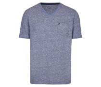 Melange T-Shirt blaumeliert