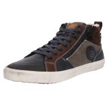 Sneaker 'Mahalo' dunkelblau / hellbraun