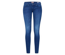Jeans 'coral' blue denim