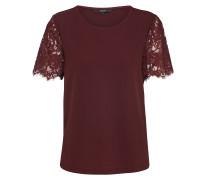 T-Shirt 'milla' weinrot