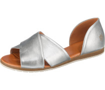 Sandale 'Chiusi' silber
