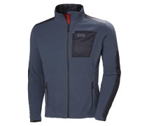 'Breeze' Fleecejacke dunkelblau