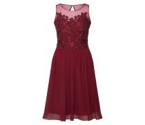 Kleid 'lace Keyhole' weinrot
