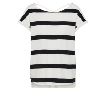 Shirt schwarz / offwhite