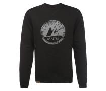 Sweatshirt 'Milo Logo ' schwarz