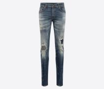 Jeans 'Sleenker' blue denim