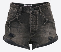 Shorts 'bandits' grey denim