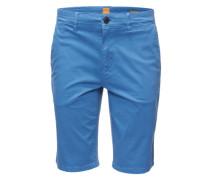 Bermuda mit Eingrifftaschen 'Schino-Slim-Shorts-D' hellblau