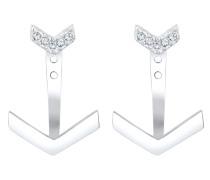 Ohrringe 'Dreieck' silber