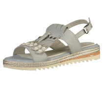 Sandalen beige / grau
