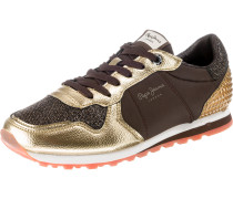 Sneaker 'Verona winner' braun / gold