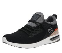 Sneaker 'Numbis' grau / schwarz