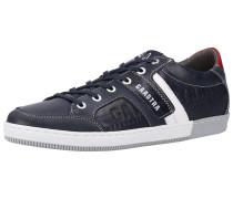 Sneaker navy / karminrot / weiß
