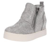 Sneaker 'wedgie-R' silber
